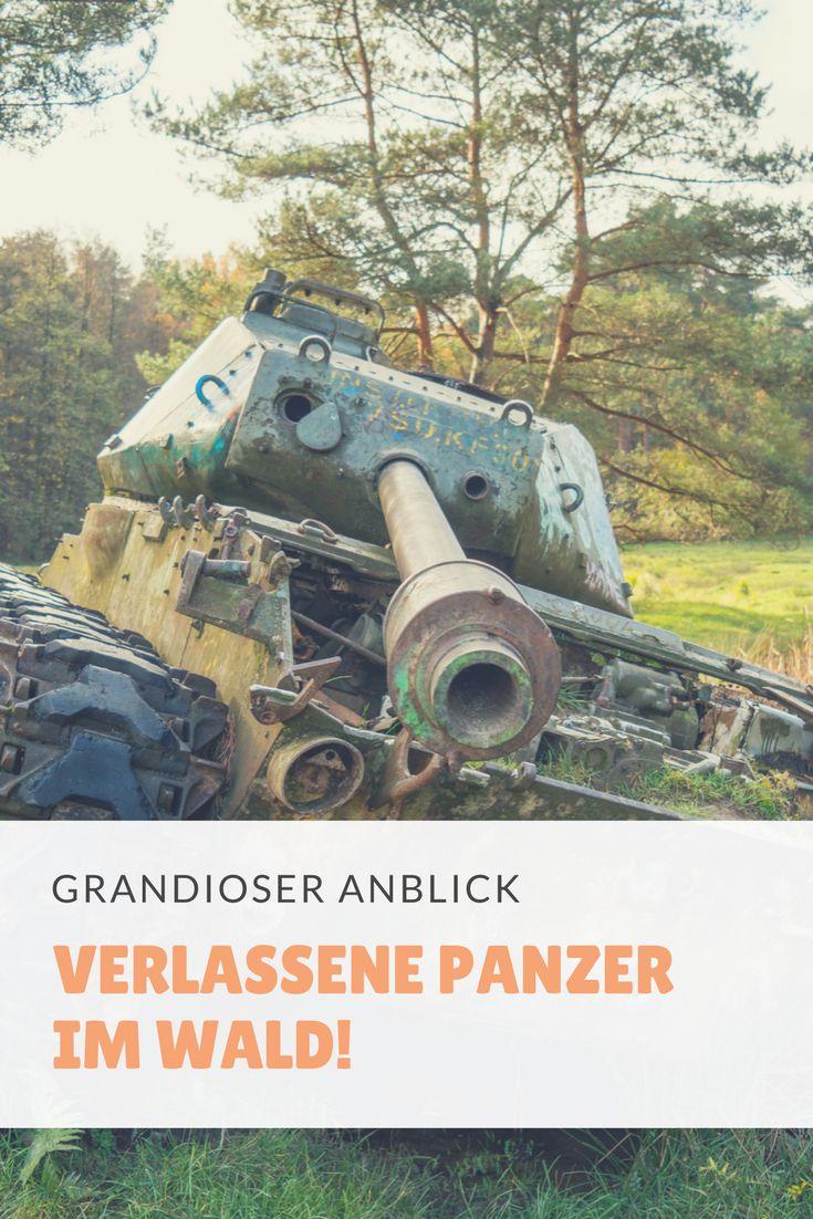 Verlassene Panzer auf einem Panzerfriedhof!  Diese verlassenen Panzer stehen in Stolberg bei Aachen auf einem Truppenübungsplatz. Dieser ist öffentlich Zugänglich. Sie dienten als Hartziele und sind heute ein sehr beliebtes Fotomotiv, welches man unbedingt gesehen haben muss!