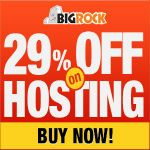 "After a month, I am came with my Bigrock Post series.This time ""Bigrock offering 29 % Discount on Webhosting and Reseller Hosting"".  ** Special Offer** Get FREE WEBSITE with .net domain for just Rs 399  These hosting discounts will save your some bucks while purchasing hosting for your website.Check out this post to grab these awesome offers now. #bigrockcouponcode http://www.frip.in/bigrock-in-maximum-29-discount-coupon-august-2013/"