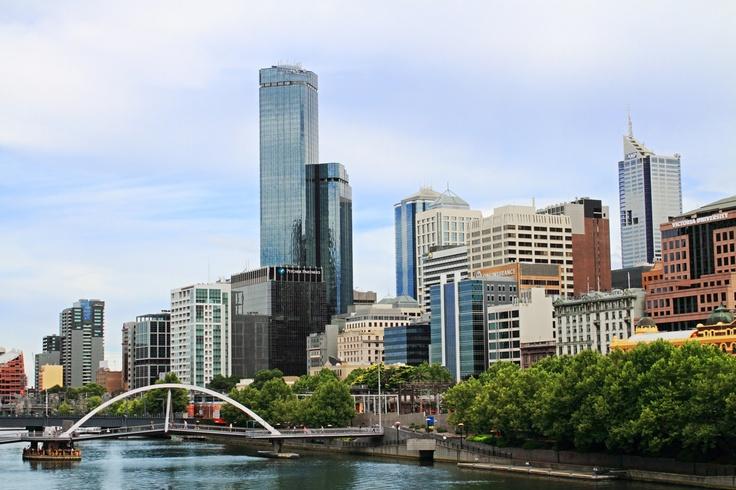 Melbourne skyline, Australia. #melbourne