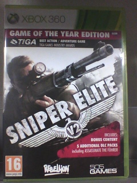 Sniper Elite  V 2 Game of the year edition   XBOX 360