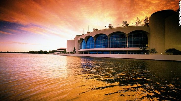 Monona Terrace- Planned by Wright  Madison, Wisconsin