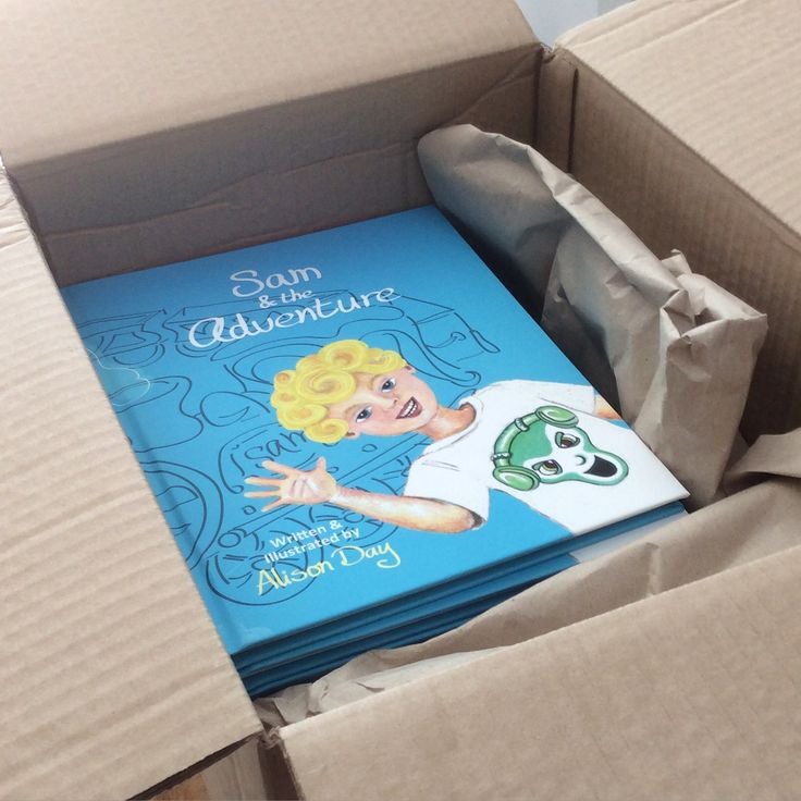 The delivery - Sam & the Adventure by Alison Day.  A children's storybook and accompanying colouring book.  Newsletter - for more info and creativity: http://alisonday.us8.list-manage.com/subscribe?u=f0ee923eb109c974f6e7d72c2&id=d783011ad5