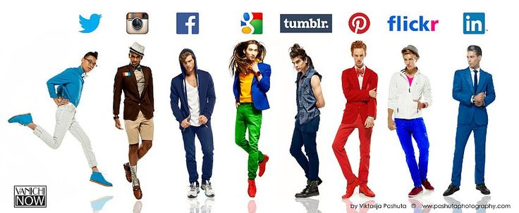 If Social Networks Were Actually Really Hot Guys