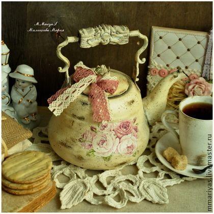 """Чайник """"Шебби Утро"""" -"""