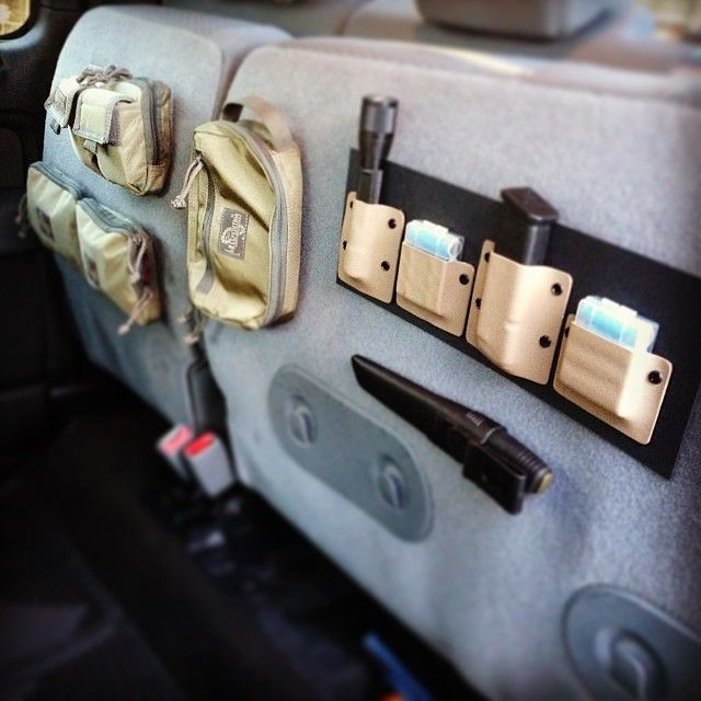 Amazing use of wasted space in a truck!   coyotemountainoutdoors's photo on Instagraminstagram.com  shit I need to do this. approved.  Be prepared