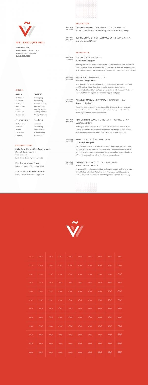 Mejores 80 imágenes de Resume / CV en Pinterest | Currículum, Cv ...