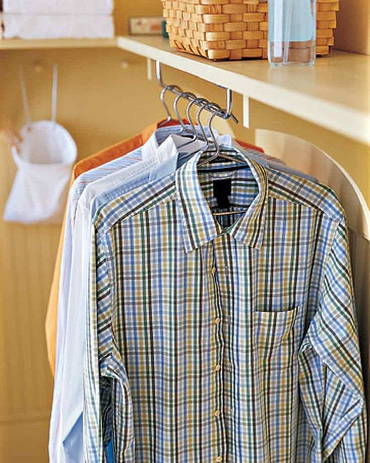The tasks of sorting, soaking, washing, drying, folding, and ironing can be performed just about anywhere in the house -- in a spacious laundry room or a hallway laundry nook -- as long as all of the things you need can be easily stashed away, ready for use at any time.