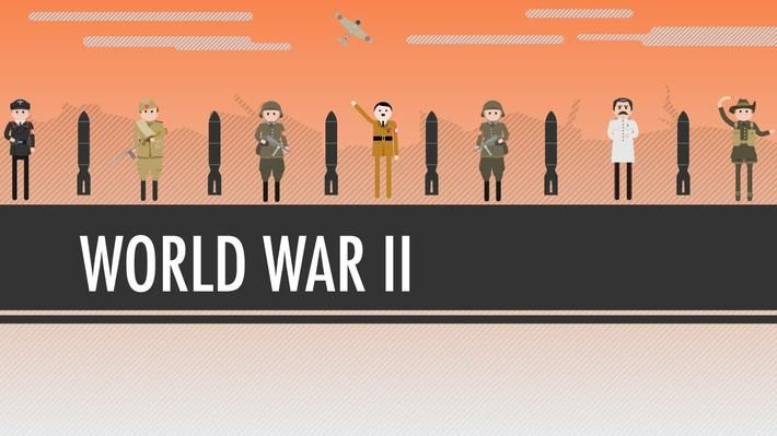 <p>John Green teaches you about World War II, aka The Great Patriotic War, aka The Big One. So how did this war happen? And what does it mean? We've all learned the facts about World War II many times over, thanks to repeated classroom coverage, the History channel, and your grandfather (or maybe great-grandfather) showing you that Nazi bayonet he used to keep in his sock drawer and telling you a bunch of age-inappropriate stories about his harrowing war experiences. So, why did the Axis…