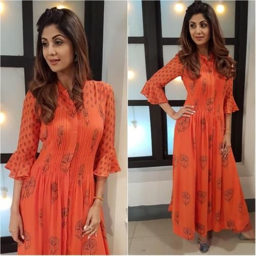 Shilpa Shetty's maxi dress is a steal