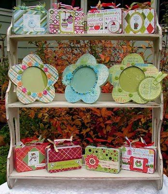 Hugs and Keepsakes: FALL CRAFT FAIR DISPLAY IDEAS