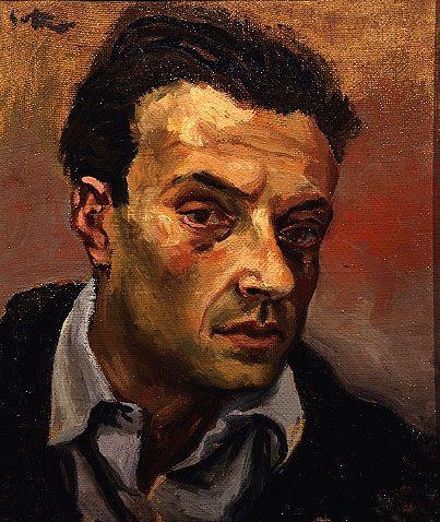 Self-portrait, c. 1940, by Renato Guttuso (Italian, 1912-1987)