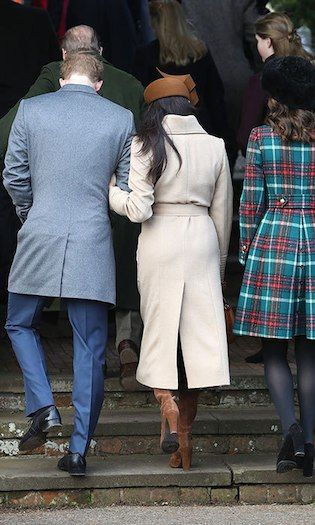 Meghan Markle makes a stylish debut at Christmas Day church service with royal family