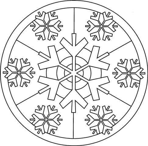 Mandalas de invierno. Las mandalas son unos diagramas o representaciones símbolicas que se utilizan en el budismo e hinduismo. Se suelen representar con un círculo. Se dice que pintar mandalas es muy bueno para la relajaci...