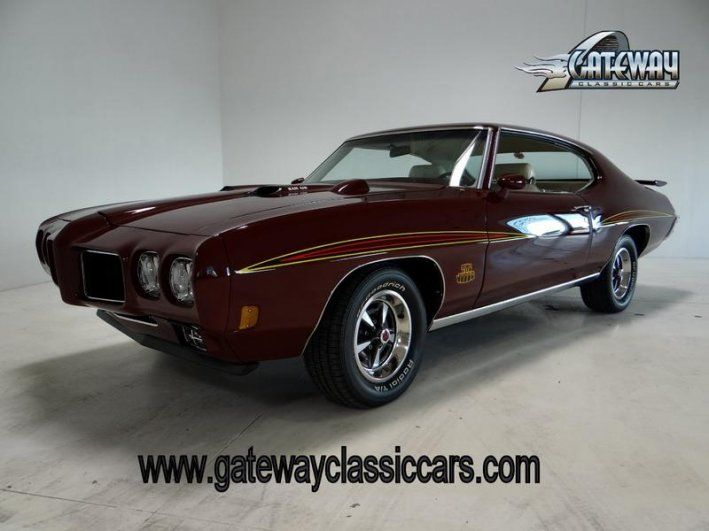 1970 Pontiac, GTO Judge  70000.00 USD  1970 PONTIAC GTO JUDGE FOR SALE ENGINE: Ram Air III; 400 CID BODY STYLE: Coupe TRANSMISSION: 4-Spd Manual EXTERIOR COLOR: Burgundy MILEAGE: 7799 (since rebuilt) INTERIOR COLOR: Parchment REAR END: GEARS: AM/FM Radio CD Player Custom Wheels Leather Interior Performance Tires Power Brakes Power Steering Radial Tires Rally Wheels Seatbelts 1970 Pontiac GTO  ..  http://www.collectioncar.com/detailed.php?ad=28325&category_id=1