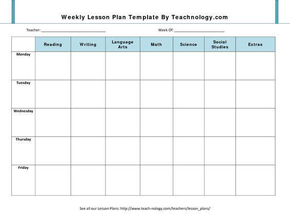 Más de 25 ideas increíbles sobre Lesson plan template doc en - physical education lesson plan template