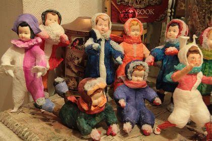 Купить или заказать Ватные игрушки в интернет-магазине на Ярмарке Мастеров. Ватные игрушки. Выполнены из ваты на проволочном каркасе. достаточно легкие по весу и прочные, как показало время, роспись акрилом, используется искусственный снег, лица вылеплены. После оплаты, сразу отправляю вам посылочку. Цена за одну игрушку. При покупке от 5 игрушек, цена 890 руб, от 7 игрушек и более- 790 руб. По всем вопросам- пишите, с удовольствием отвечу!