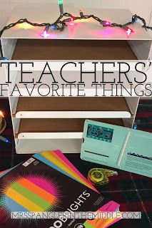 My Teacher Wish List is on Amazon and is full of Great Products for my Middle School Classroom!   #favoritethings #holiday #Christmas #classroomsupplies