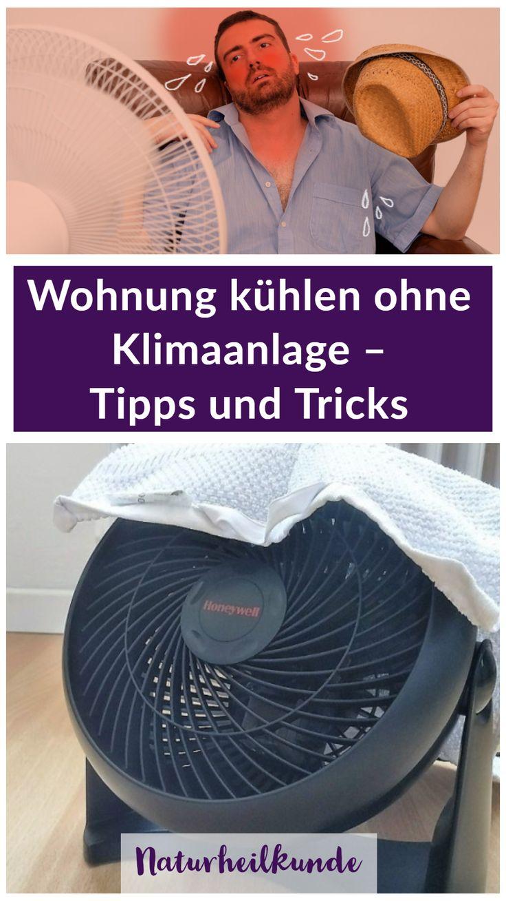 Wohnung kühlen ohne Klimaanlage – Tipps und Tricks