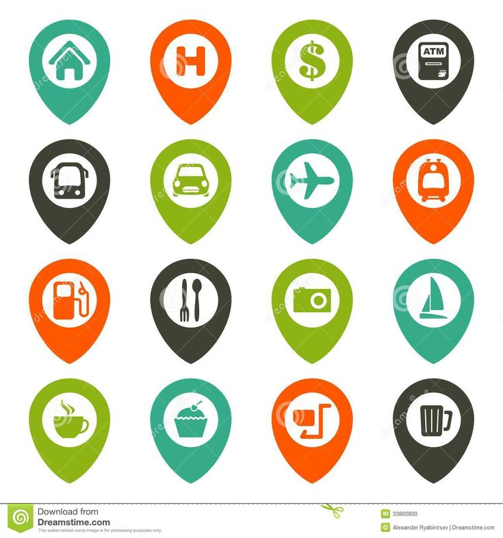 map-navigation-icon-set-33800800.jpg 1,300×1,390 pixels