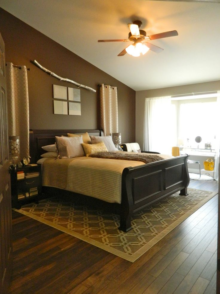 Hardwood floors in the master bedroom i like the area for Wood flooring for bedrooms