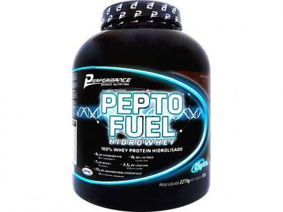 Whey Protein Hidrolisado Pepto Fuel 2,273kg - Performance Nutrition com as melhores condições você encontra no Magazine Marcelinos. Confira!