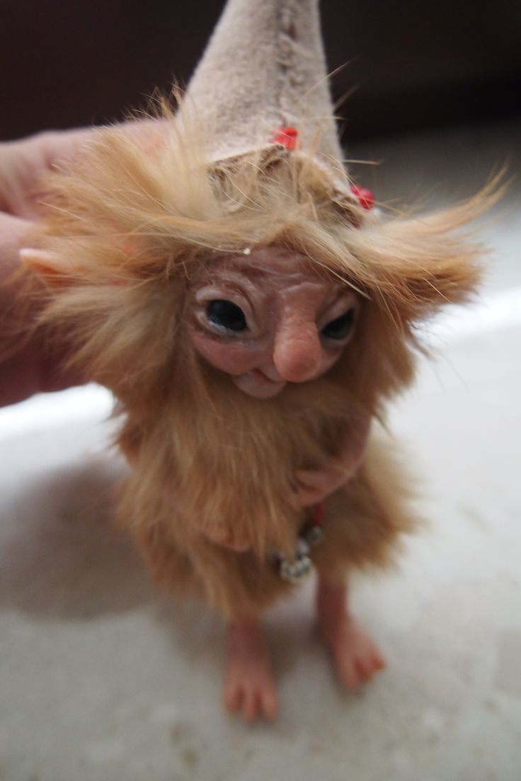 OOAK fantasy art doll woodland troll gnome GABRI by Muyestillo
