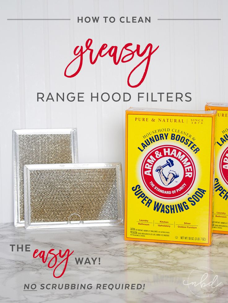 How to clean a greasy range hood filter the EASY way! NO scrubbing required! #cleaning #grease #easycleaning