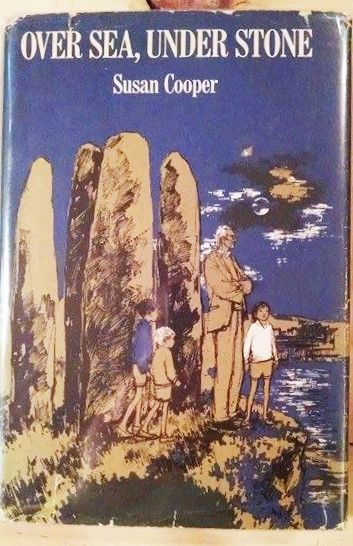 Susan Cooper, OVER SEA UNDER STONE, Dark is Rising 1st Am. Ed. Inscribed by Auth