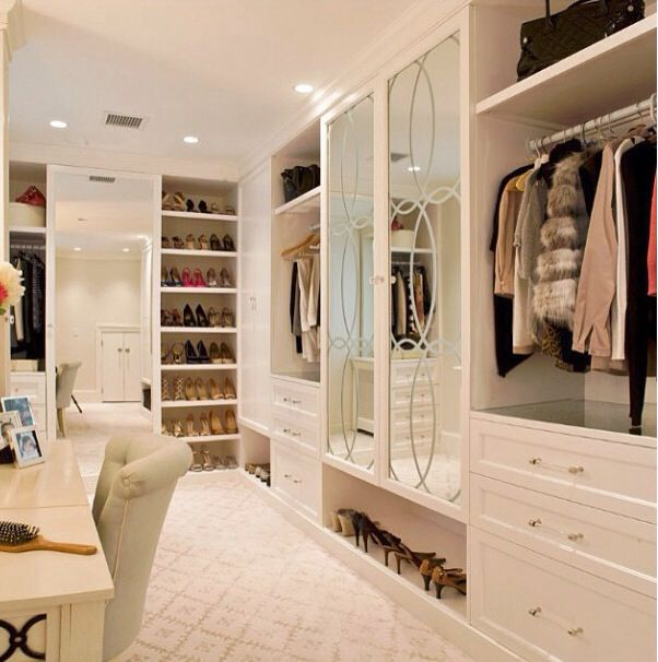 Master Bedroom Closet- YES PLEASE!
