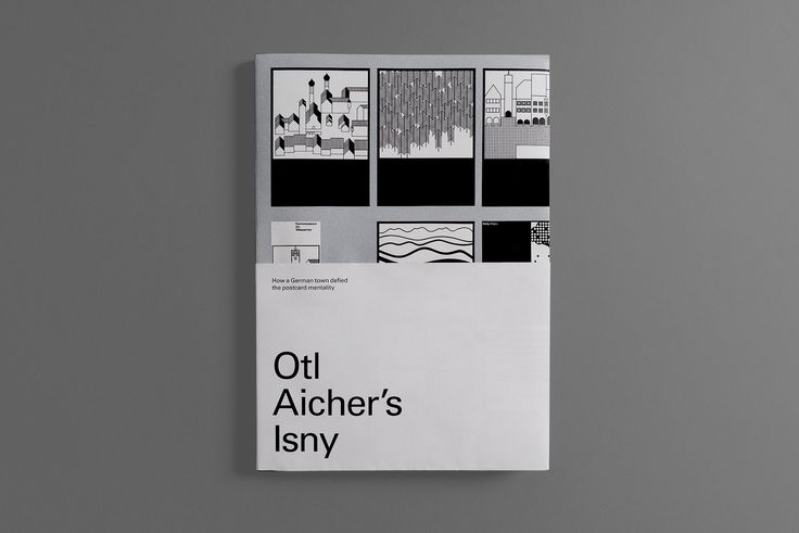 Otl Aicher's Isny – modernism in a medieval town