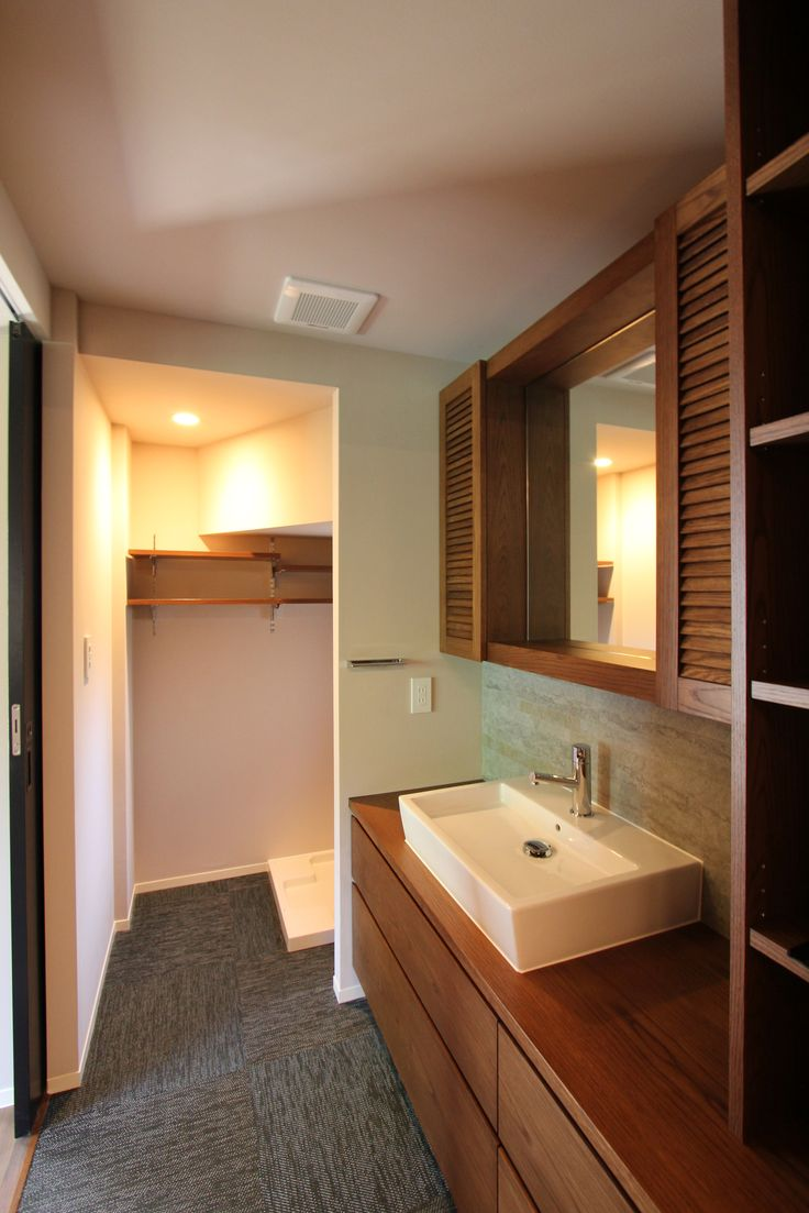LAVATORY/POWDER ROOM/TOILET/洗面室/トイレ/洗面器/フィールドガレージ/FieldGarage INC./リノベーション