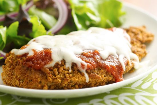Pan-Fried Chicken Parm | Recipes for Healthy Meals, Low-Calorie Snacks & More | Hungry Girl