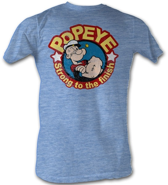 Cartoon Characters Shirts : This officially licensed popeye shirt features a portrait