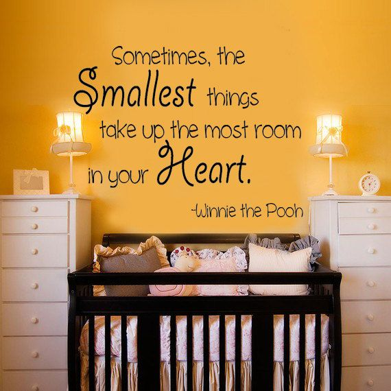 sometimes, the smallest things take up the most room in your Heart!