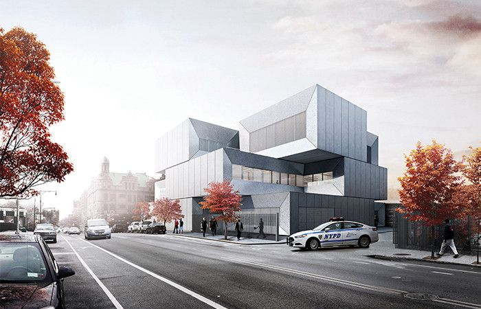 40th Police Precinct / BIG + Starr Whitehouse. Image Courtesy of BIG