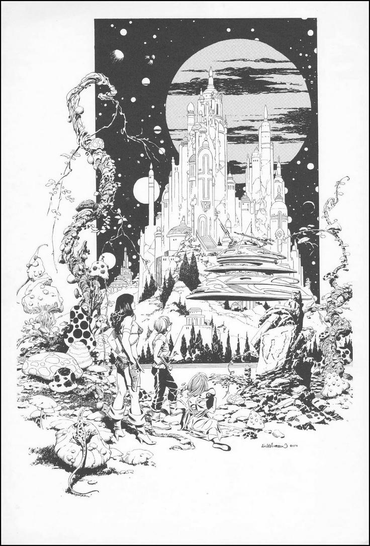 Alan ford gruppo t n t ubc enciclopedia online del fumetto - Al Williamson