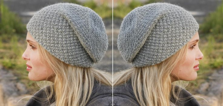 Knitted Hat – Easy to Make