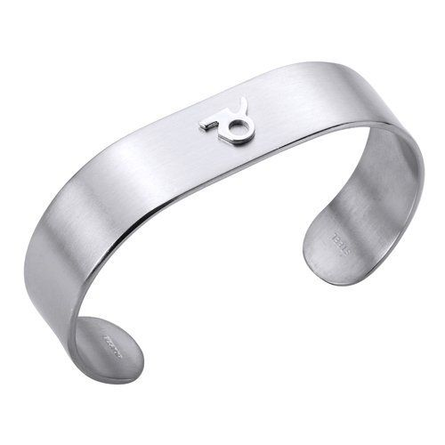 Aries Star Sign for Stainless Steel Cuff Bangle Bracelet (Large)14.5mm Odysseus. $15.99. Our Stainless Steel Jewelry are high quality ,good design and hypoallergenic.  It is ideal as a gifts and accessories.. All Bracelet/Bangle come with our exclusive brand Odysseus box.