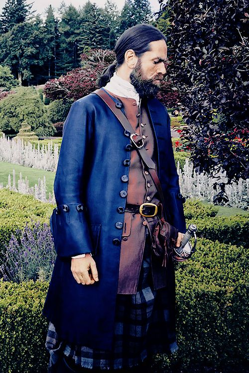"sablelab: "" outlander-news: "" Duncan Lacroix as Murtagh Fraser 