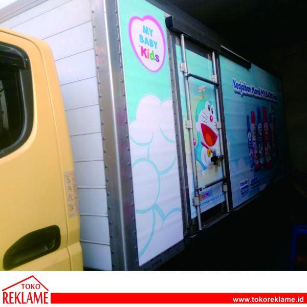 Branding Mobil Truck Engkel Box Di Karanganyar