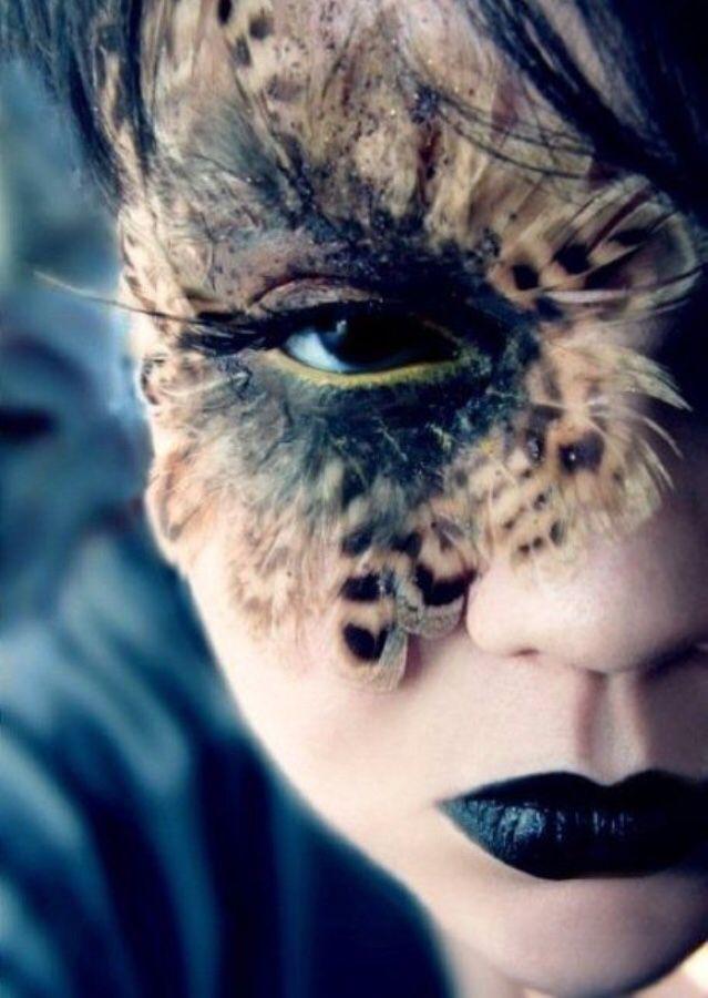 Half women, half owl
