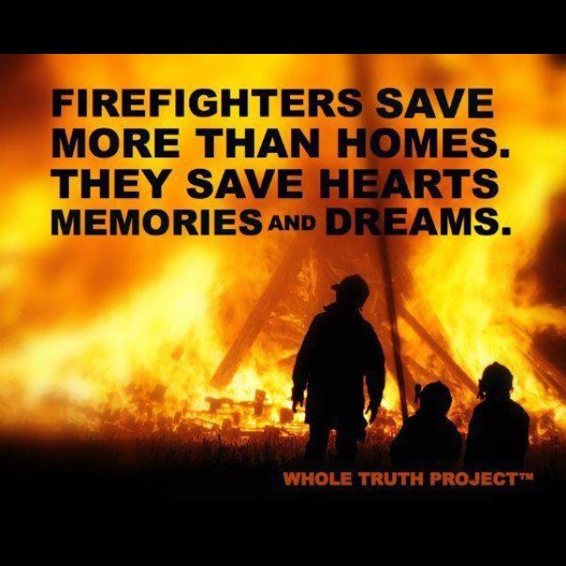 I love my firefighter! Quotes/Sayings Pinterest To