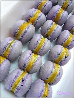 Limara péksége: Levendulás-citromkrémes macaron