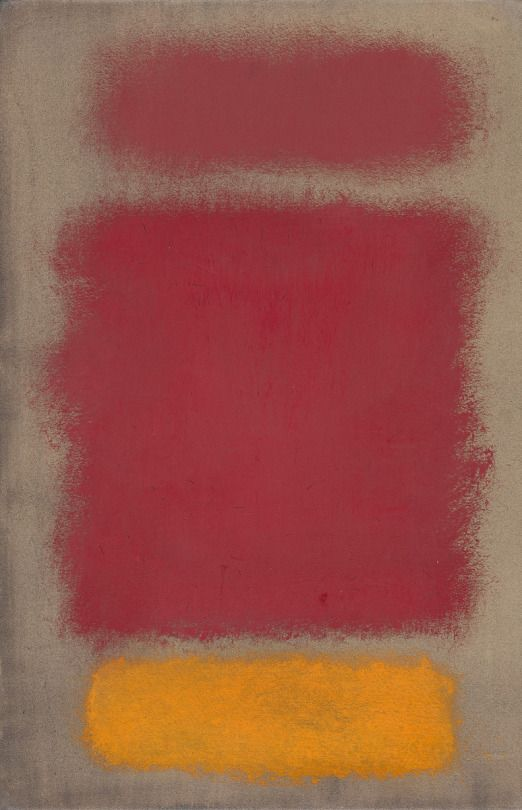 Mark Rothko, Untitled, 1968, Acrylic on paper