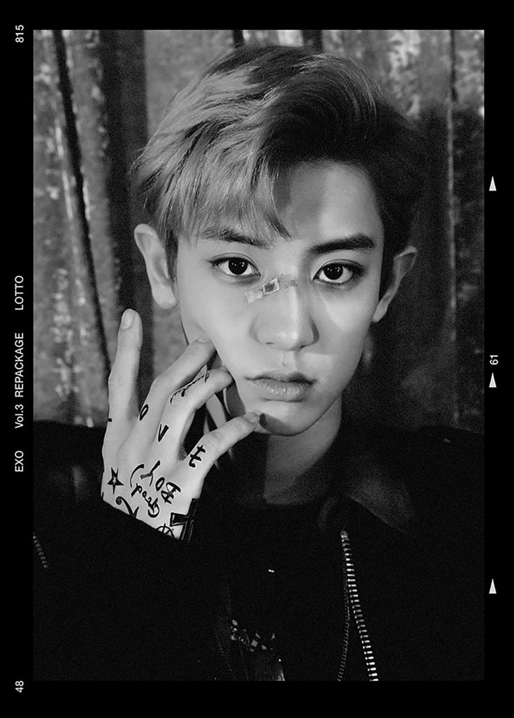 Chanyeol 'Lotto' comeback teaser photo  Credit: Official EXO website.