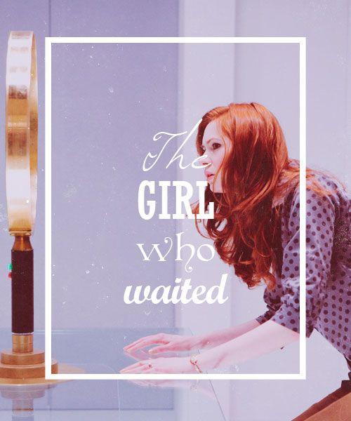 Amelia Pond.  The Girl Who Waited.  Doctor Who.  Karen Gillan.