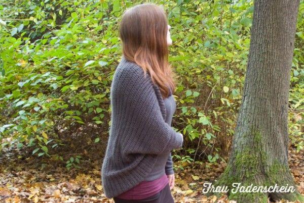 Gehäkelter Jacke für den Herbst
