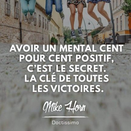 citation positive de Mike Horn