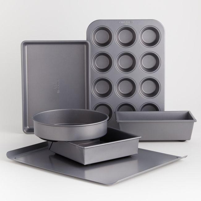 Calphalon Premier Countertop Safe Bakeware 6 Piece Set Crate