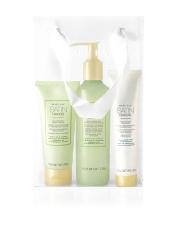 White Tea & Citrus Satin Hands® Pampering Set. Women love the Satin Hands® Pampering Set* because: Instantly, hands feel moisturized, soft and smooth. Hands feel revitalized, soothed and protected. Skin feels renewed, looks rejuvenated and instantly looks healthier. Set makes a great gift, especially for brides.